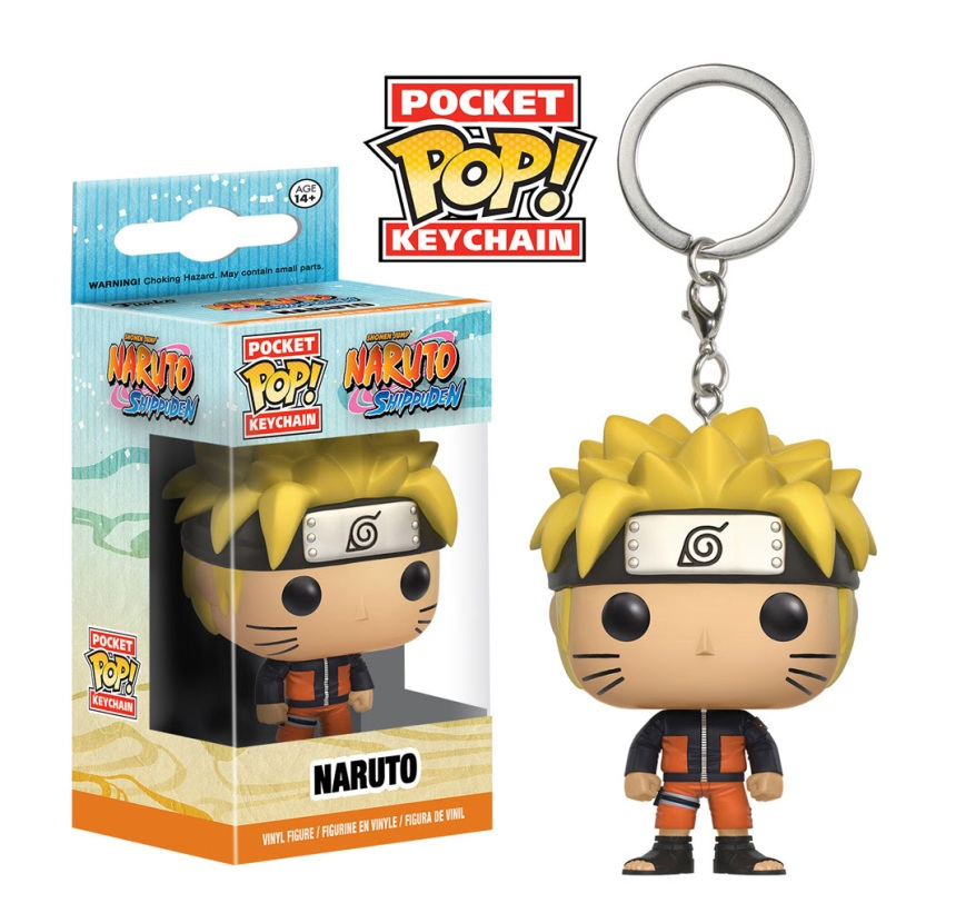 Pocket Pop Keychain Naruto