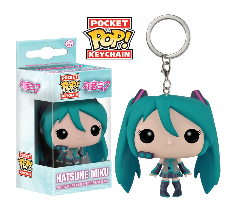 Pocket Pop Keychain Vocaloid - Hatsune Miku