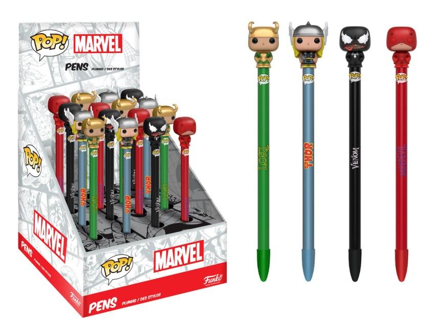Pop! Pen Toppers Marvel