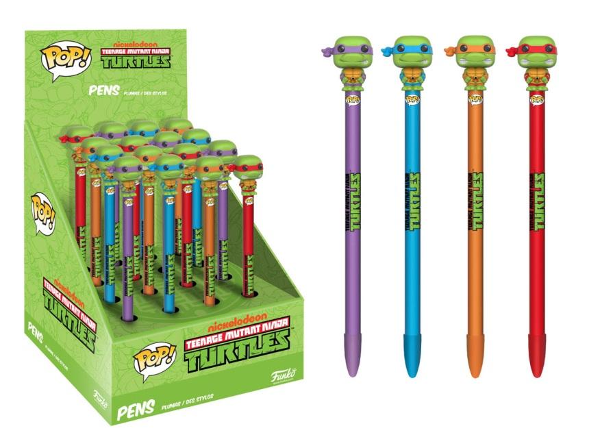 Pop! Pen Toppers TMNT