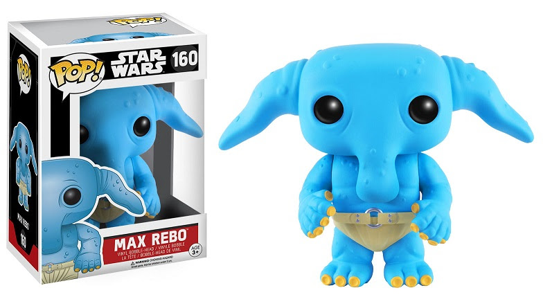 Pop! Star Wars Max Rebo