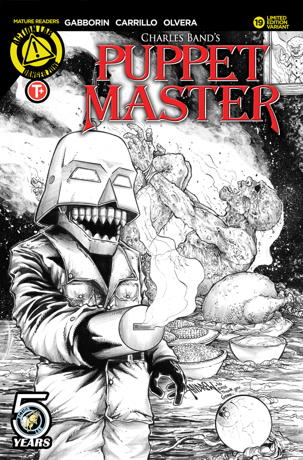 Puppet_Master_19_E_Kill_Cover_Sketch RGB Solicit
