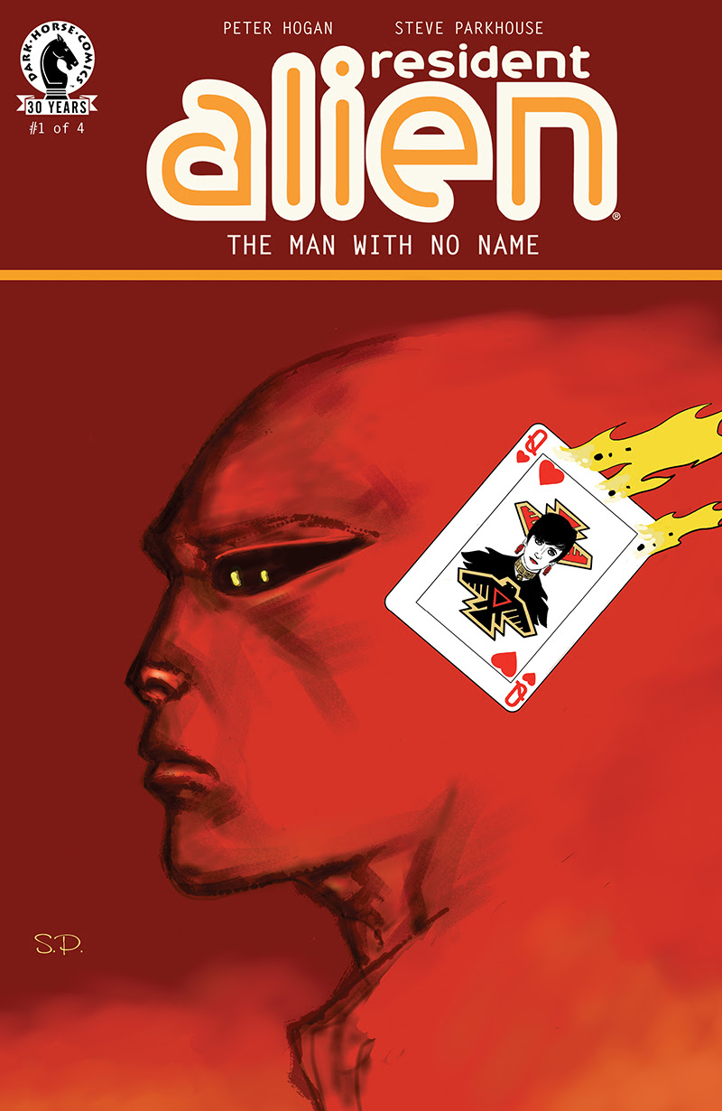 Resident Alien The Man with No Name #1 1