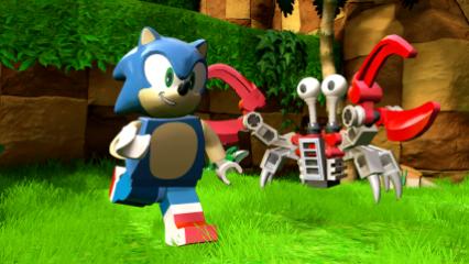 SEGA_Sonic & Crabmeat