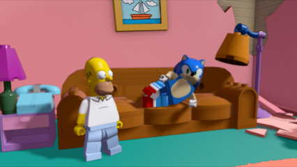 SEGA_Sonic & Homer