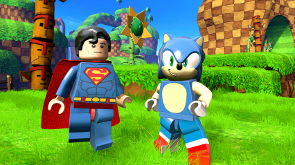 SEGA_Sonic & Superman