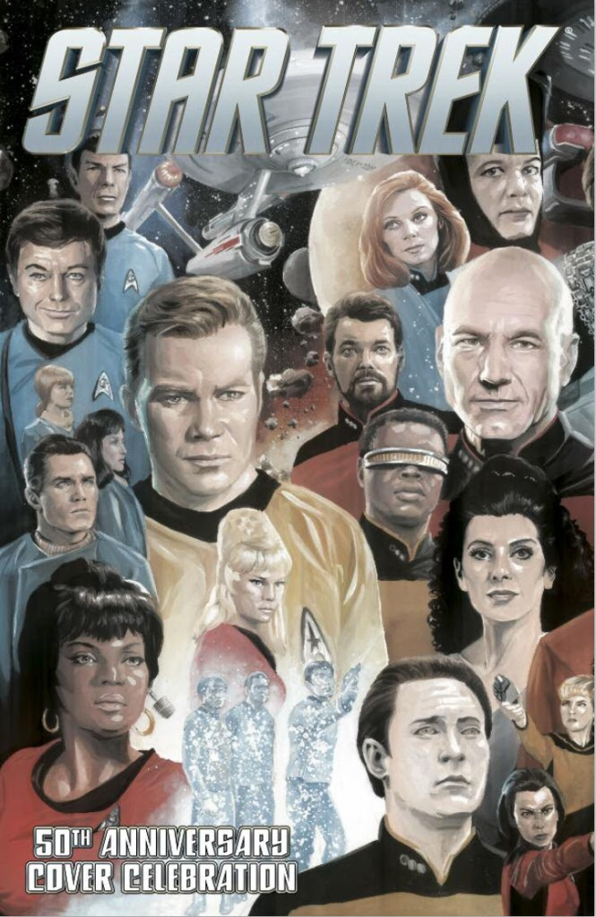 Star Trek 50th Anniversary Cover