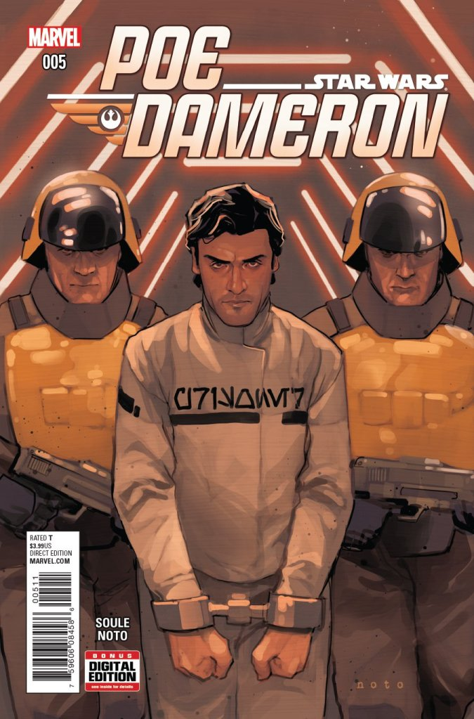Star Wars Poe Dameron #5 Cover