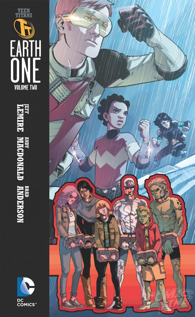 Teen Titans Earth One Vol 2 Cover