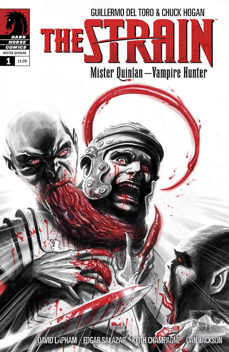 The Strain Mister Quinlan -- The Vampire Hunter #1 1