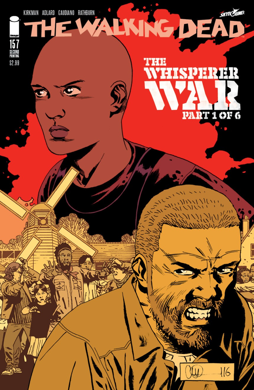 THE WALKING DEAD #158 2nd printing A