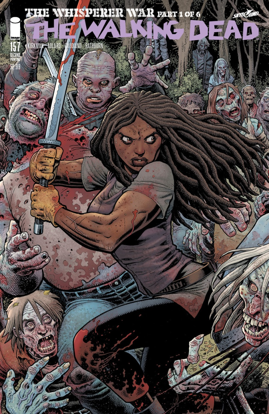 THE WALKING DEAD #158 2nd printing B