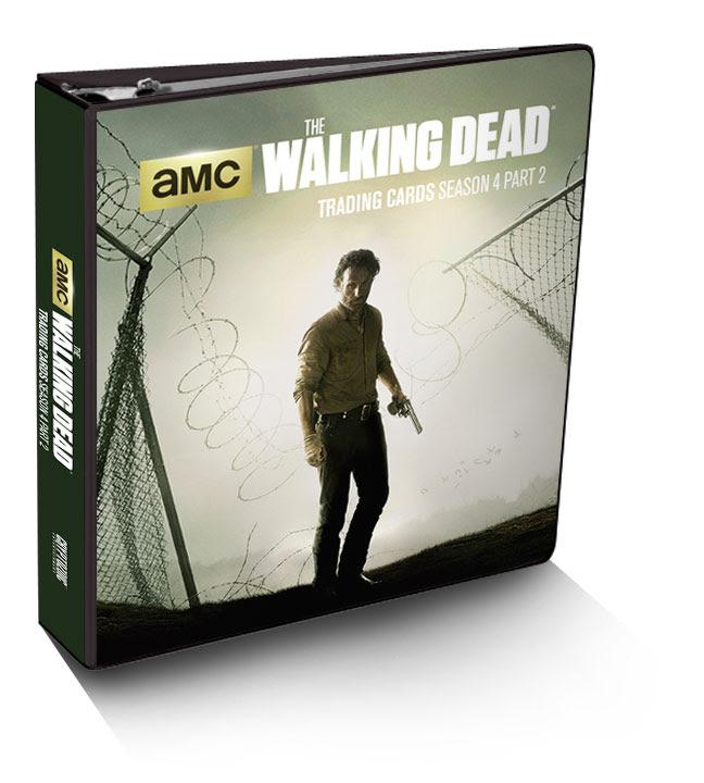 The Walking Dead Season 4 Part 2 Trading Card Binder