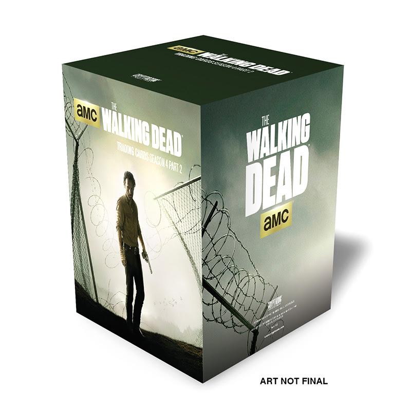 The Walking Dead Season 4 Part 2 Trading Card Photo Set
