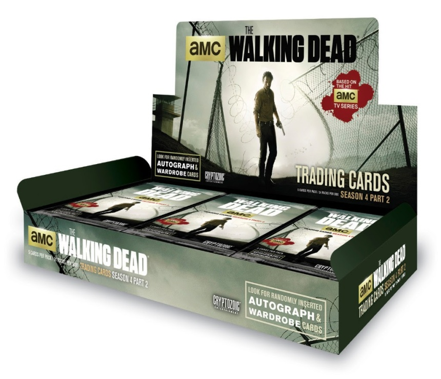 The Walking Dead Season 4 Part 2 Trading Card