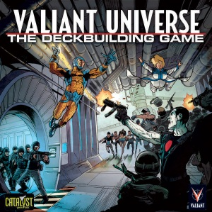 VALIANT UNIVERSE THE DECK BUILDING GAME