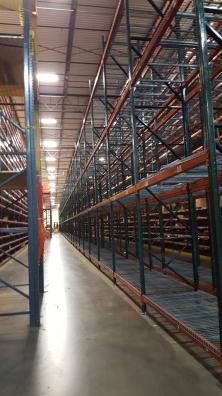 Once empty shelves...