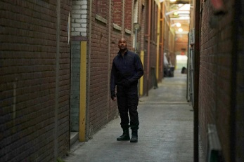 "MARVEL'S AGENTS OF S.H.I.E.L.D. - ""The Ghost"" - In the season premiere episode, ""The Ghost,"" Ghost Rider is coming, and S.H.I.E.L.D will never be the same. ""Marvel's Agents of S.H.I.E.L.D."" returns with a vengeance for the fourth exciting season in an all-new time period, TUESDAY, SEPTEMBER 20 (10:00-11:00 p.m. EDT), on the ABC Television Network. (ABC/Richard Cartwright) HENRY SIMMONS"