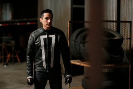 """MARVEL'S AGENTS OF S.H.I.E.L.D. - """"The Ghost"""" - In the season premiere episode, """"The Ghost,"""" Ghost Rider is coming, and S.H.I.E.L.D will never be the same. """"Marvel's Agents of S.H.I.E.L.D."""" returns with a vengeance for the fourth exciting season in an all-new time period, TUESDAY, SEPTEMBER 20 (10:00-11:00 p.m. EDT), on the ABC Television Network. (ABC/Jennifer Clasen) GABRIEL LUNA"""