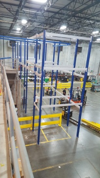 The mezzanine was a huge undertaking, with the construction project going on for the last six months.
