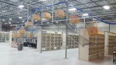 We are adding over a mile of conveyor, which will move product and orders through the warehouse