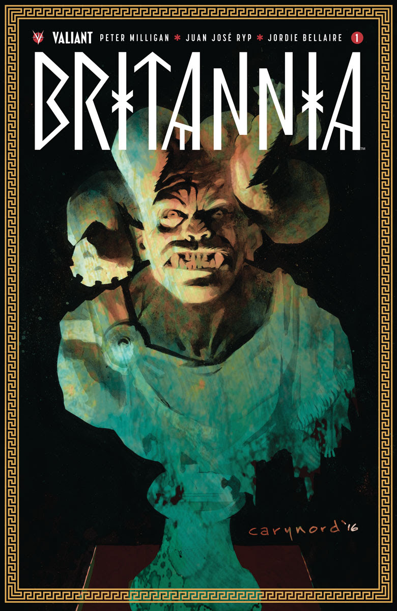BRITANNIA #1 SECOND PRINTING – Cover by Cary Nord