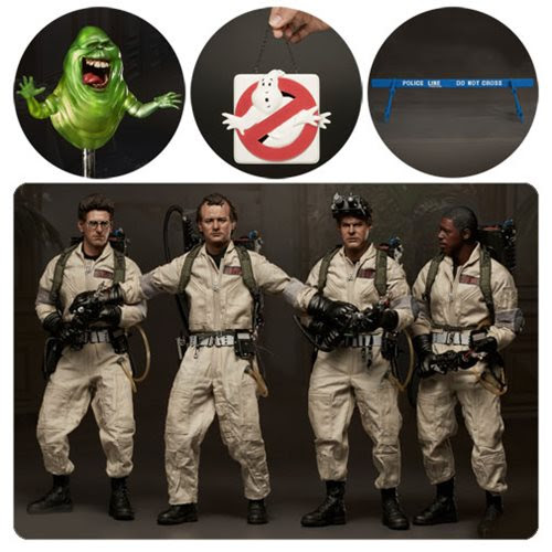 Ghostbusters 1984 1 6 Scale Action Figure 5-Pack