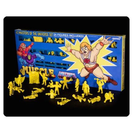masters-of-the-universe-m-u-s-c-l-e-mini-figure-wave-2-yellow-24-pack-convention-exclusive