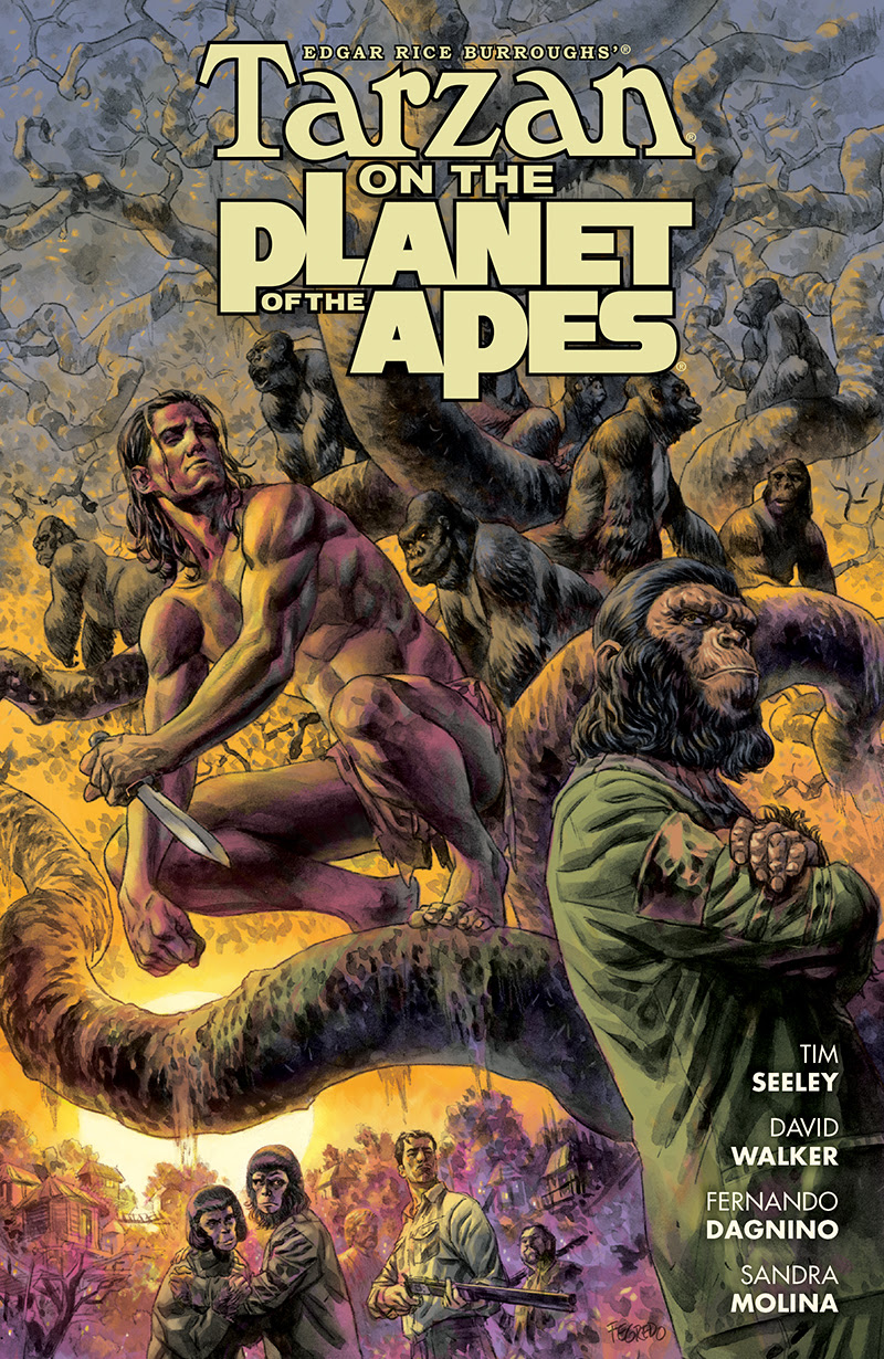 Tarzan on the Planet of the Apes #1 1