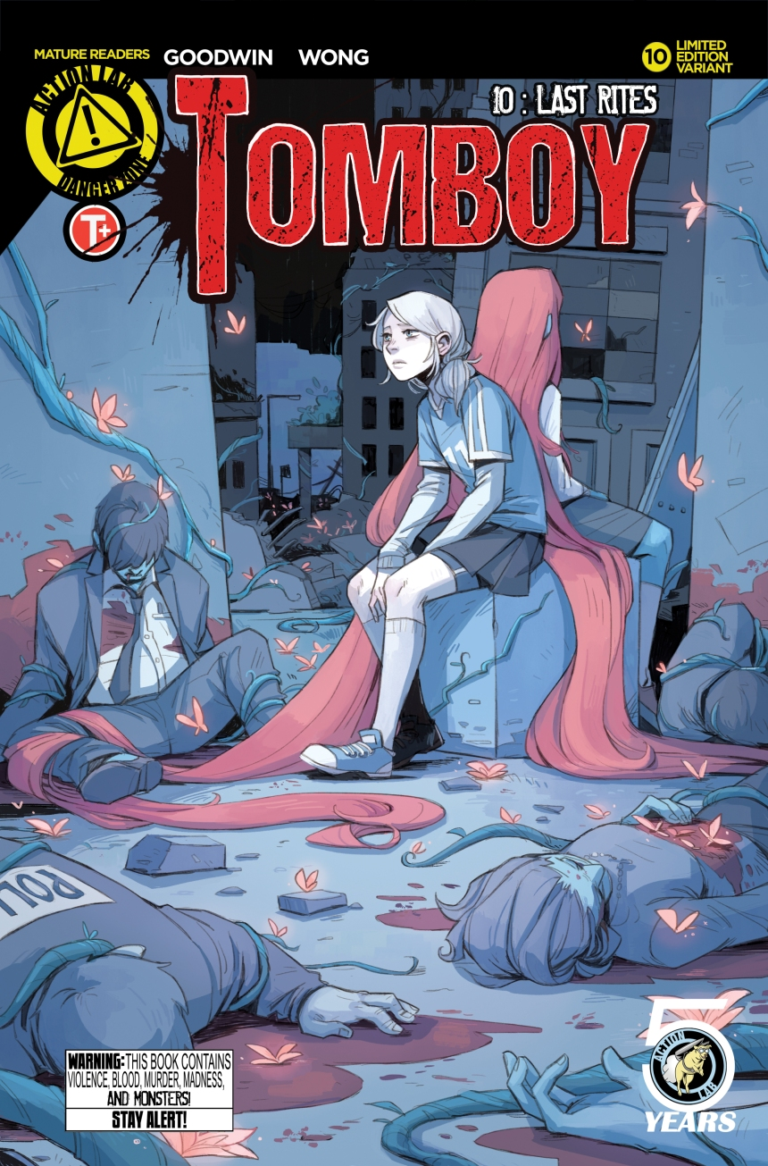 graphic policy where comic books and politics meet solicits tomboy issue10 standard goodwin tomboy issue10 variant wong