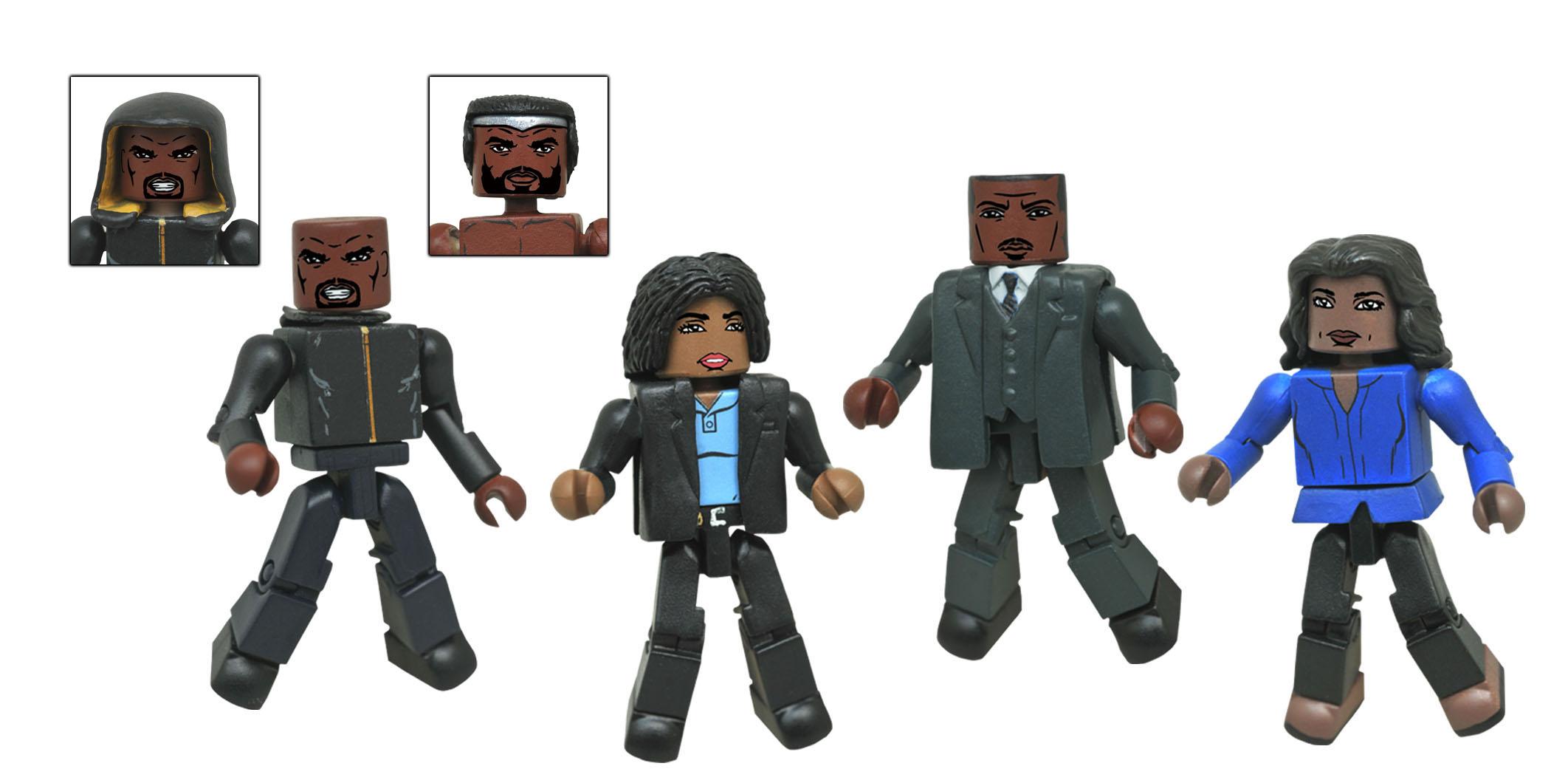Diamond Select Toys Marvel Daredevil TV Series Minimates Box Set