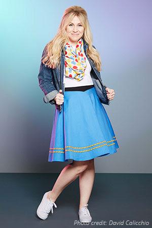 star-trek-atomic-delta-pattern-infinity-scarf-and-star-trek-tos-uniform-skirt