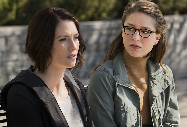 "Supergirl -- ""Changing"" -- Image SPG206a_0103 -- Pictured (L-R): Chyler Leigh as Alex Danvers and Melissa Benoist as Kara -- Photo: Liane Hentscher/The CW -- © 2016 The CW Network, LLC. All Rights Reserved"