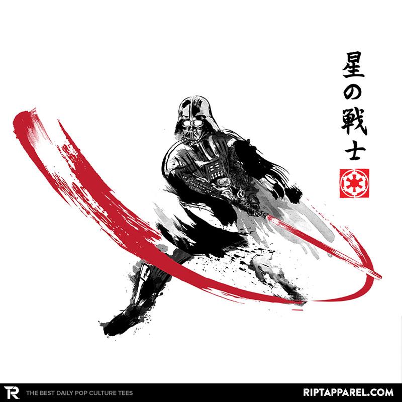 star-warrior-sumi-e