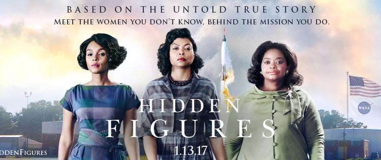 Hidden Figures Wins the Weekend Box Office
