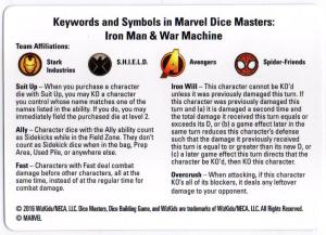 Marvel Dice Masters: Iron Man and War Machine Starter Set - Basic