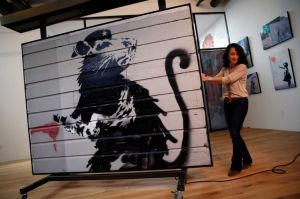 Fully restored rat on display in San Francisco. Courtesy of Candy Factory Films and Parade Deck Films