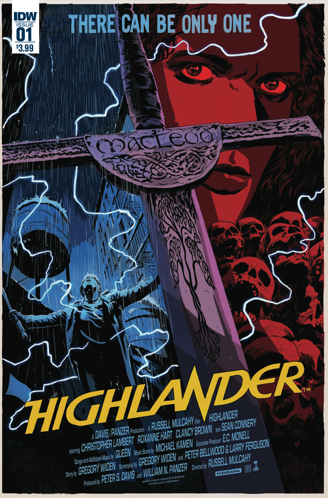 Preview: Highlander: The American Dream #1