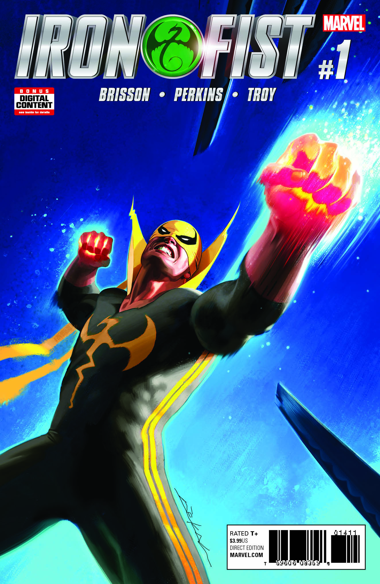 Iron Fist #1 Packs a Mean Punch This March – a First Look!