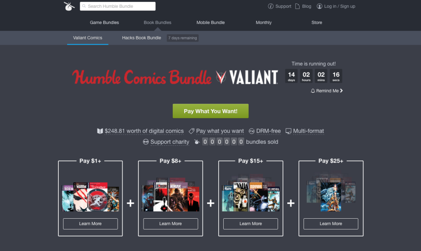 valiant-heroes_humble-bundle_front-page