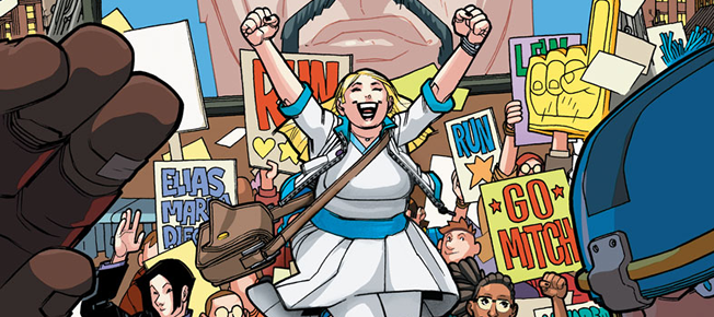 Review: Valiant High #1