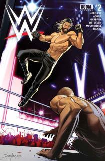 WWE #2-Main Cover (Seth Rollins)