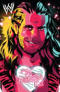 WWE #2-Then Cover (Shawn Michaels)
