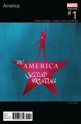 America_1_Veregge_Second_Printing_Cover