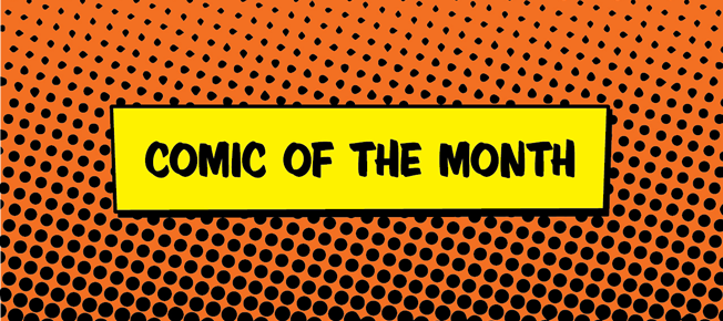 Unboxing: May's Comic of the Month Club