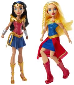 DC Super Hero Girls Wonder Woman of Themyscira & DC Super Hero Girls Super Girl of Krypton_Target