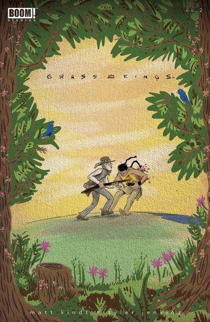 Grass Kings #2 Intermix cover by Matt Kindt