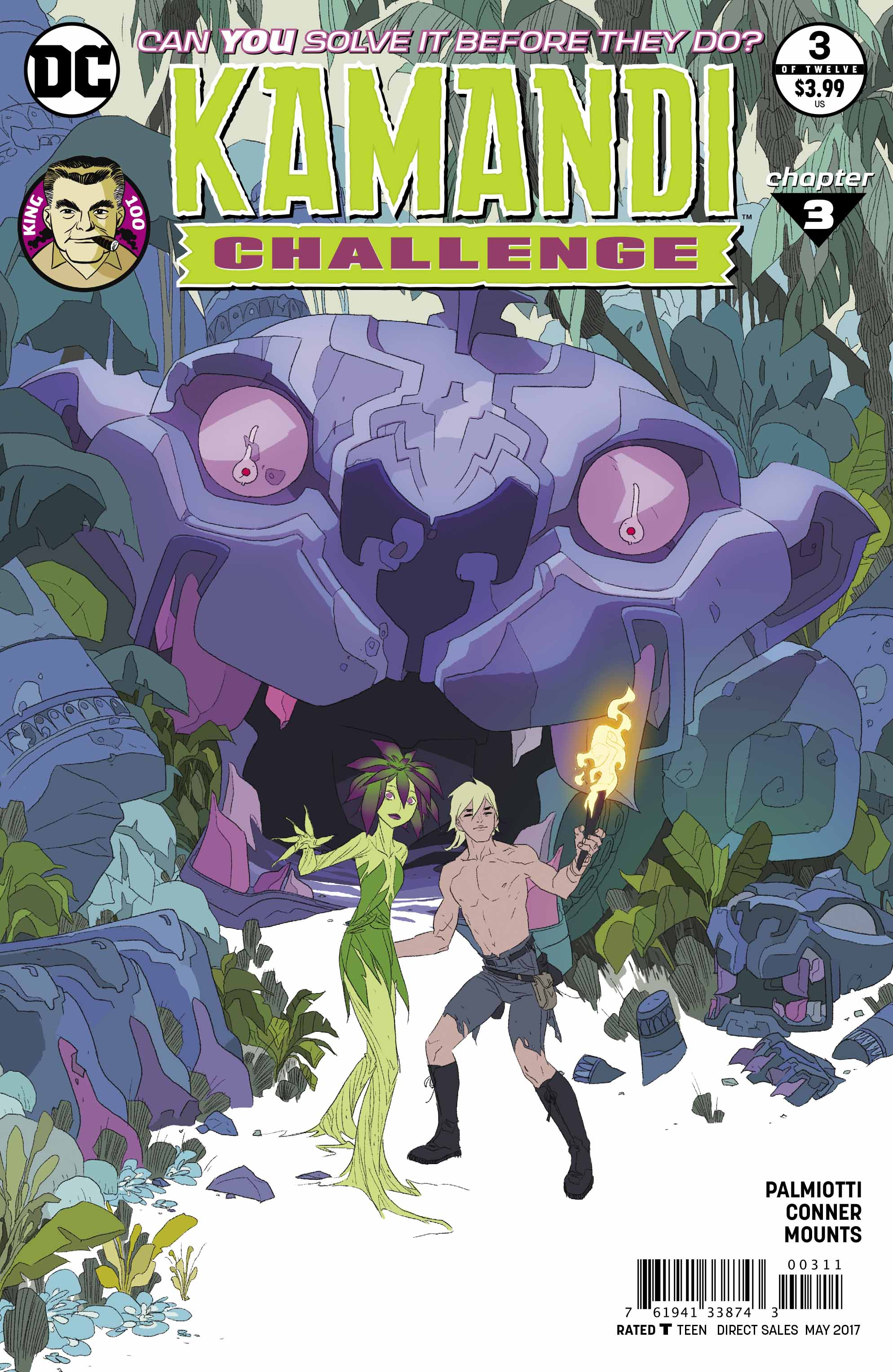 Preview: The Kamandi Challenge #3