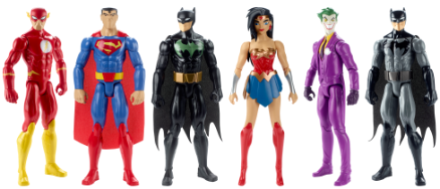 Mattel_Justice League Action 12 Figure Asst