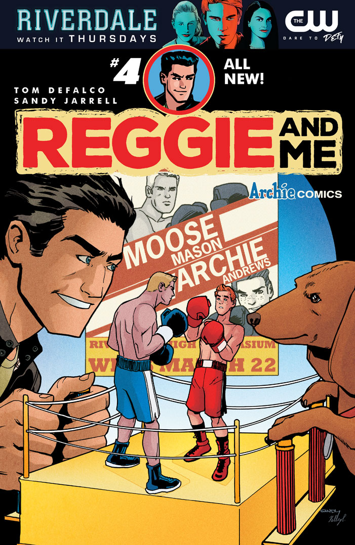 Preview: Reggie and Me #4